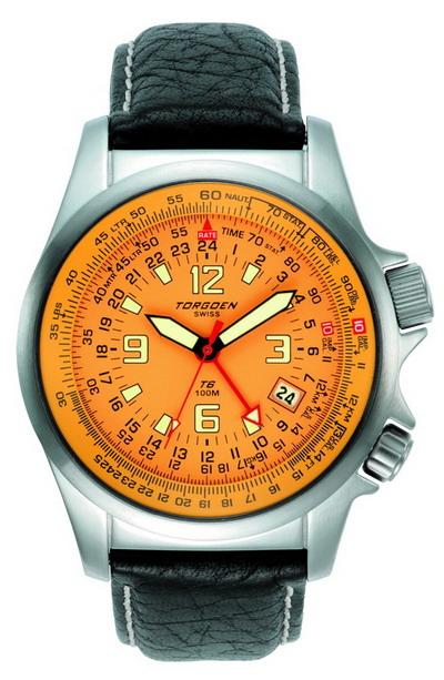 A Cool Aviation Watch Torgoen T6 E6b And Zulu Time Watch
